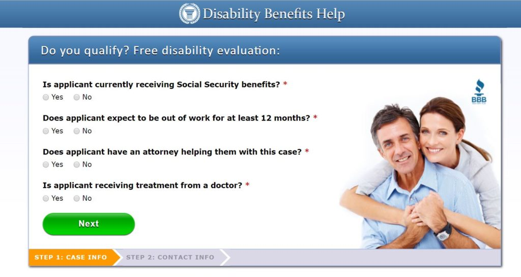 disability benefits health
